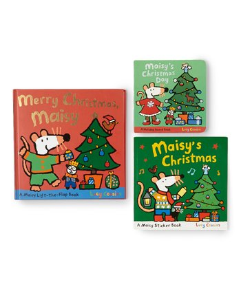 Maisy Christmas Book Set