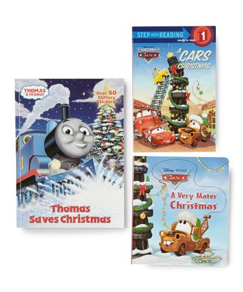 Cars & Thomas Christmas Book Set