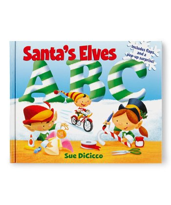 Santa's Elves ABC Board Book