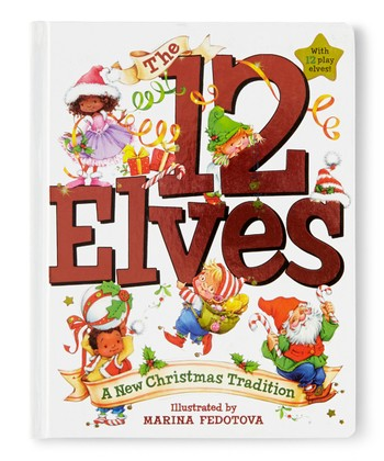 The 12 Elves Board Book