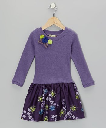 Violet Petal Dominique Dress - Toddler & Girls