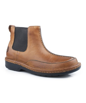 Tan Opanka Ankle Boot - Men