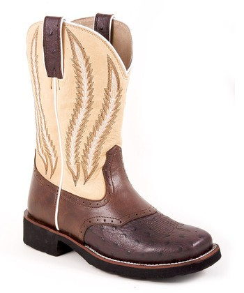 Brown & Bone Riderlite Square-Toe Cowboy Boot - Women