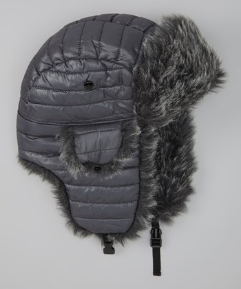 Charcoal Dekko Trapper Hat