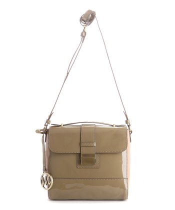 Taupe Shelly Crossbody Bag