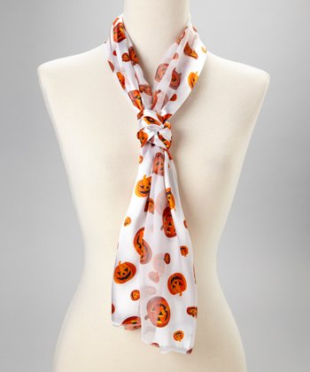 White Pumpkin Scarf