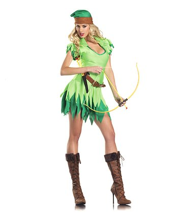 Green Forest Outlaw Dress Set- Women