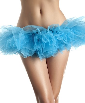 Light Blue Organza Petticoat