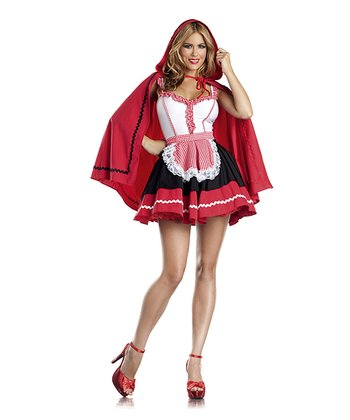 Red & White Red Riding Hood Dress Set