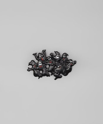 Black Ghost Pin