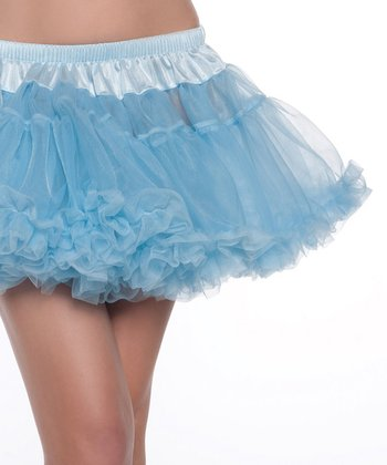 Sky Blue Sheer Kate Petticoat