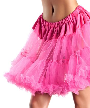 Hot Pink Sheer Annie Petticoat