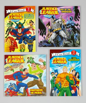 Justice League Paperback Set