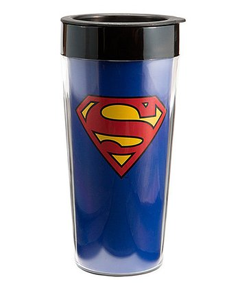 Blue Superman Travel Mug