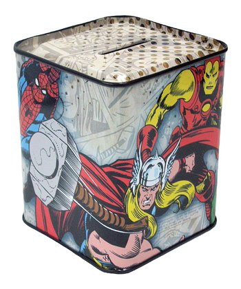Marvel Comics Tin Bank
