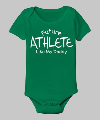 Kelly Green 'Like My Daddy' Athlete Bodysuit - Infant