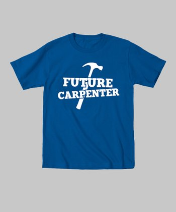 Royal Blue 'Future Carpenter' Tee - Toddler & Kids