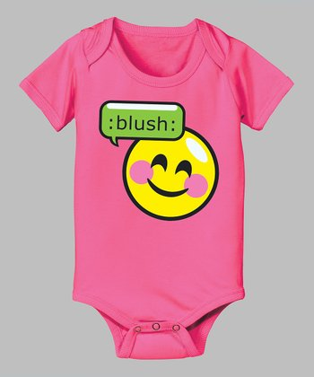 Raspberry 'Blush' Bodysuit - Infant