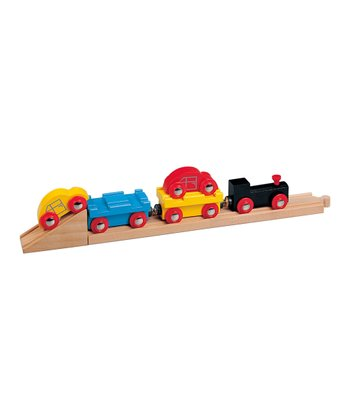 Car Transporter Train Set