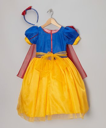 Blue & Yellow Princess Dress-Up Set - Infant, Toddler & Girls