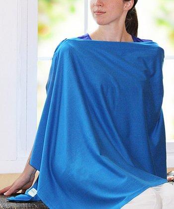 Family Bedrock Moroccan Blue ZippedUp Nursing Cover