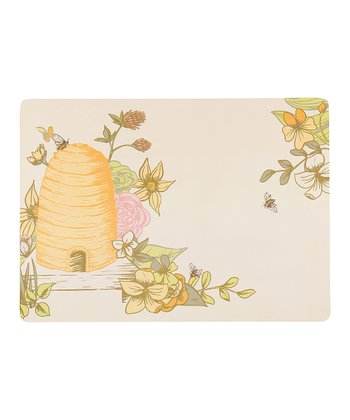 Beehive Cork Place Mat - Set of Four