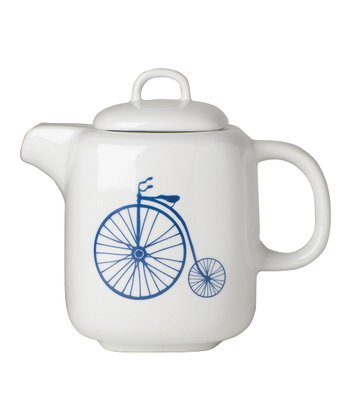 26-Oz. Bicycle Teapot