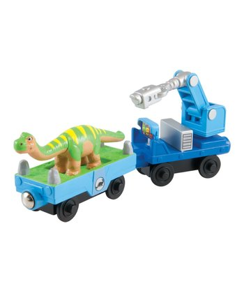 Dinosaur & Camera Car Set