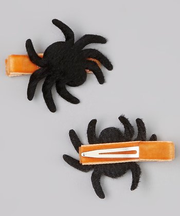 Black Spider Clip Set