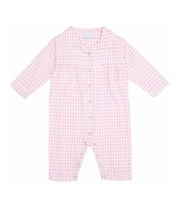 Pink Gingham Playsuit - Infant & Toddler