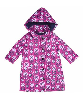 Pink Bloom Padded Coat - Infant, Toddler & Girls