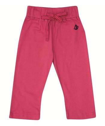 Cerise Drawstring Pants - Infant, Toddler & Girls
