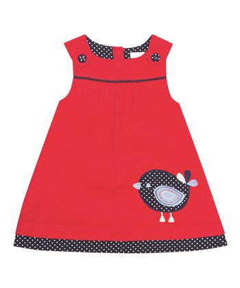 Red Bird Jumper - Infant, Toddler & Girls