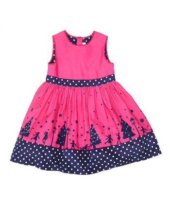 Raspberry Wonderland Party A-Line Dress - Infant, Toddler & Girls
