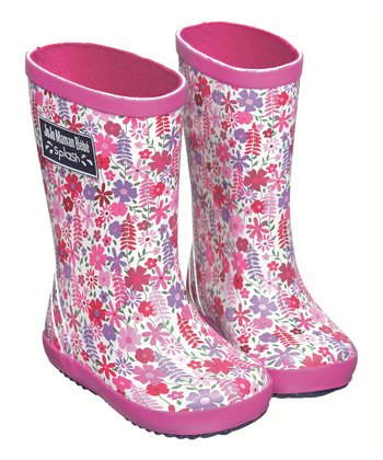 Pink Meadow Rain Boot
