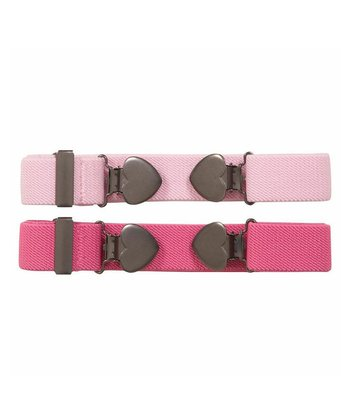 Pink Heart Belt Set