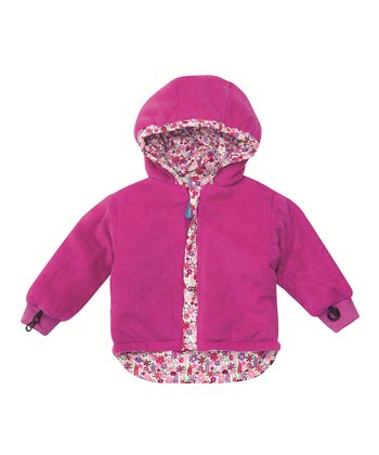 Pink Meadow Reversible Jacket - Infant, Toddler & Girls