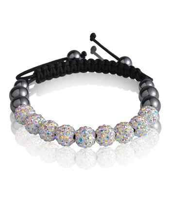 Crystal Frosted Friendship Bracelet