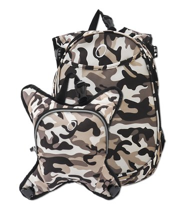 Camo Innsbruck Diaper Bag Backpack & Cooler Set