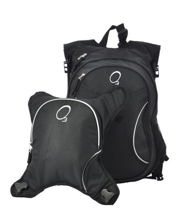 Black Innsbruck Diaper Bag Backpack & Cooler Set
