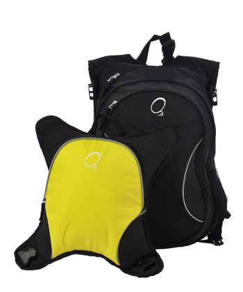 Black & Yellow Innsbruck Diaper Bag Backpack & Cooler Set