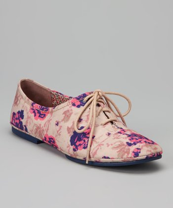 Natural Floral Deadrah Oxford