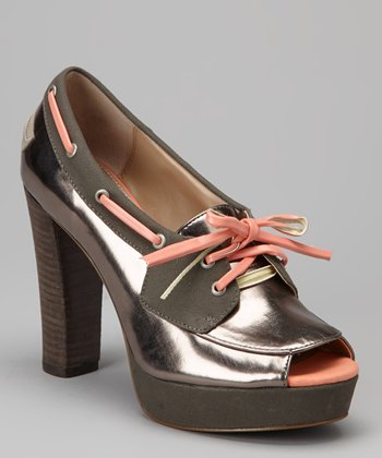 Dark Gray Norwyn Pump