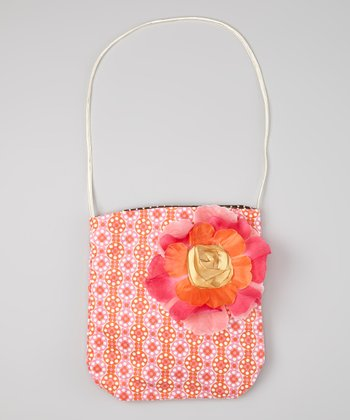 Pink & Orange Delilah Purse