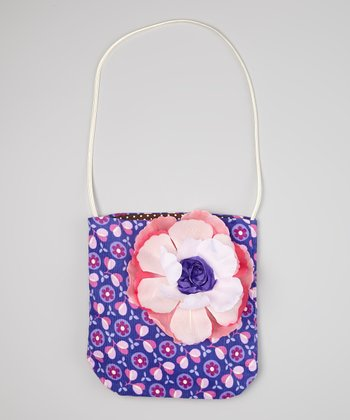 Purple & Pink Floral Jules Purse