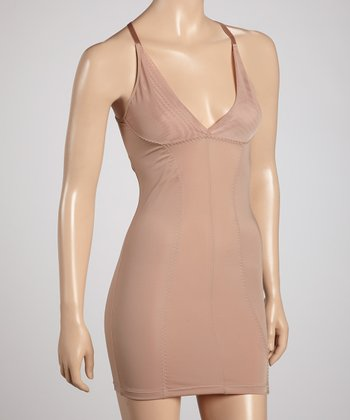 Dark Nude Adjustable Shaper Slip - Women & Plus