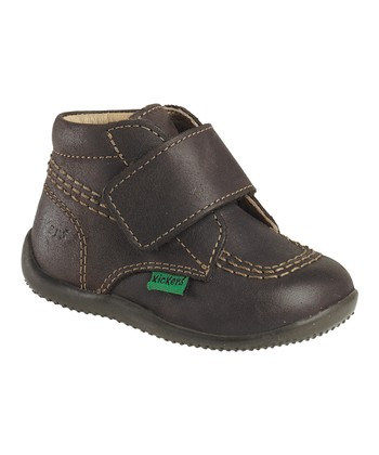 Dark Brown Bilou Ankle Boot - Kids