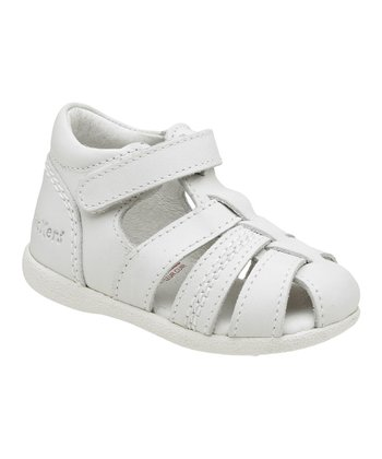 White Babysun Closed-Toe Sandal