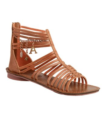 Light Brown Lilou W Gladiator Sandal - Women
