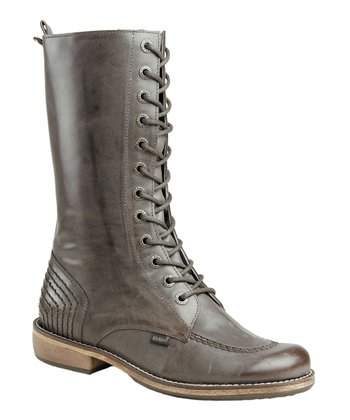 Dark Brown Roots Doc Boot - Women